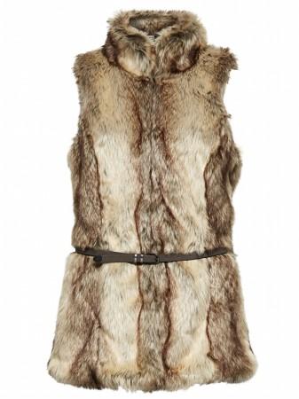 only damen weste xs s m l xl bilbao long fur waistcoat 15089092 fellweste fell ebay. Black Bedroom Furniture Sets. Home Design Ideas