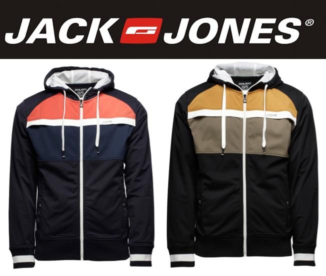 284c44fcaf3bd6 Jack   Jones Sweatjacke S bis XXL John Sweat Core Kapuzenjacke Hoody ...