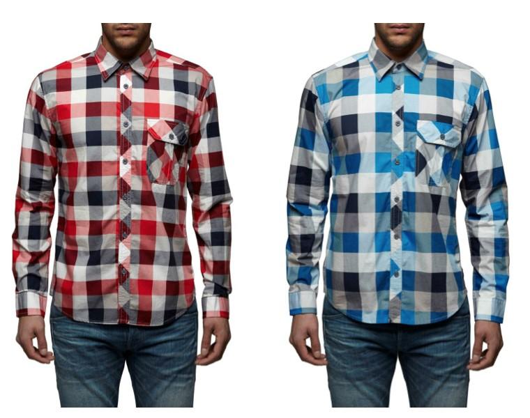 jack jones hemd s bis xl nex shirt pack karo kariert rot. Black Bedroom Furniture Sets. Home Design Ideas