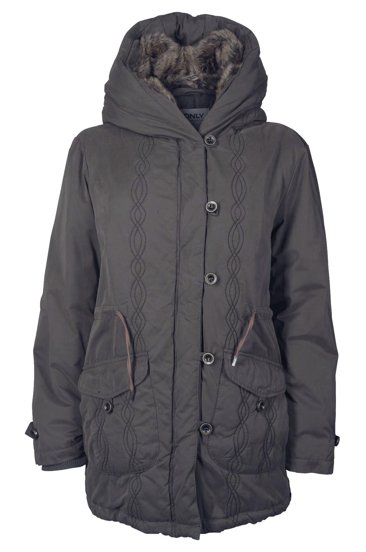 Details zu Only Damen Mantel XS, S, M, L, XL New Astoria Canvas Jacket ...