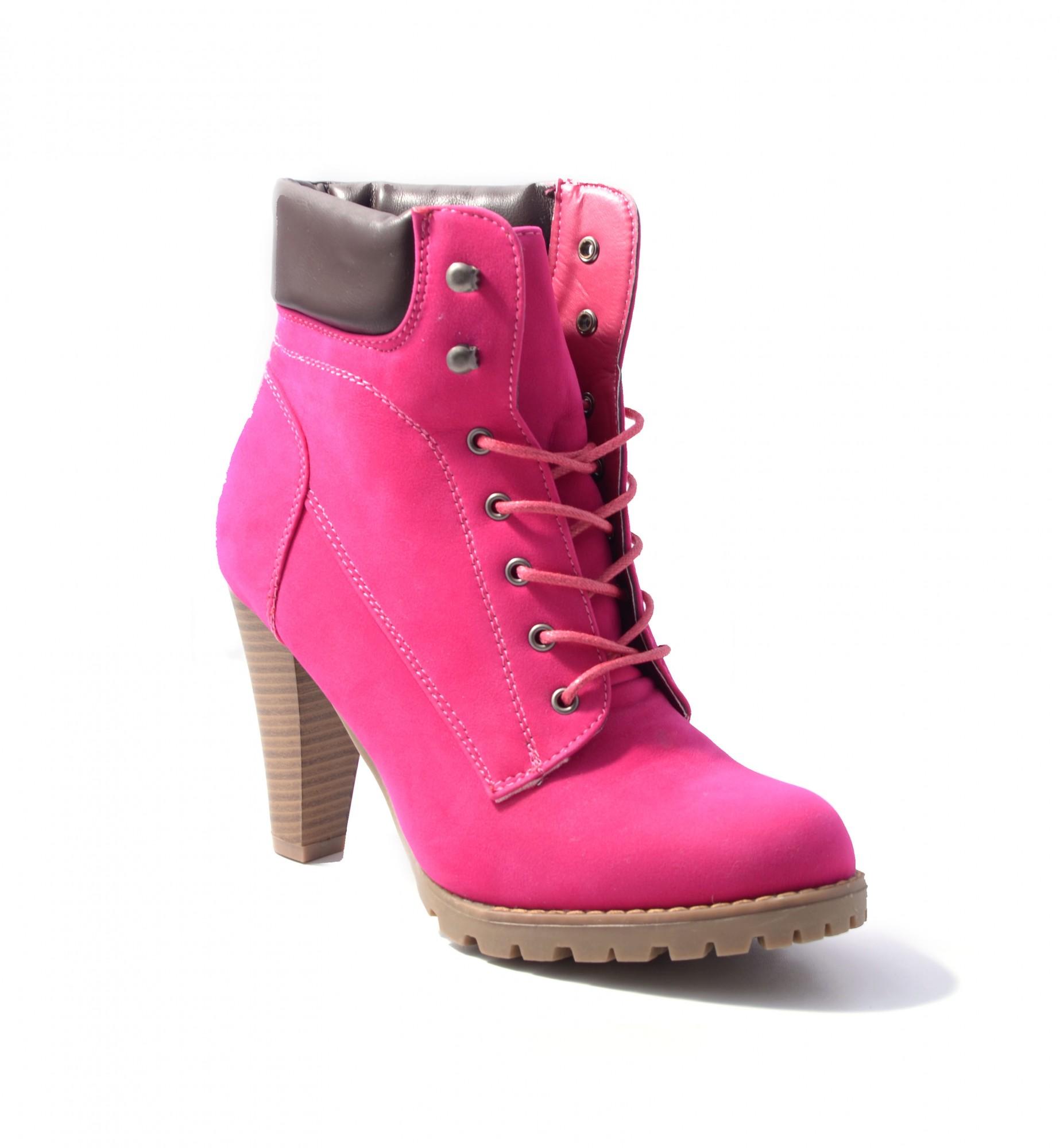 JUMEX-Damen-Stiefelette-Schuhe-Stiefel-Schnuerstiefel-Markenschuhe-Schnuerstiefel