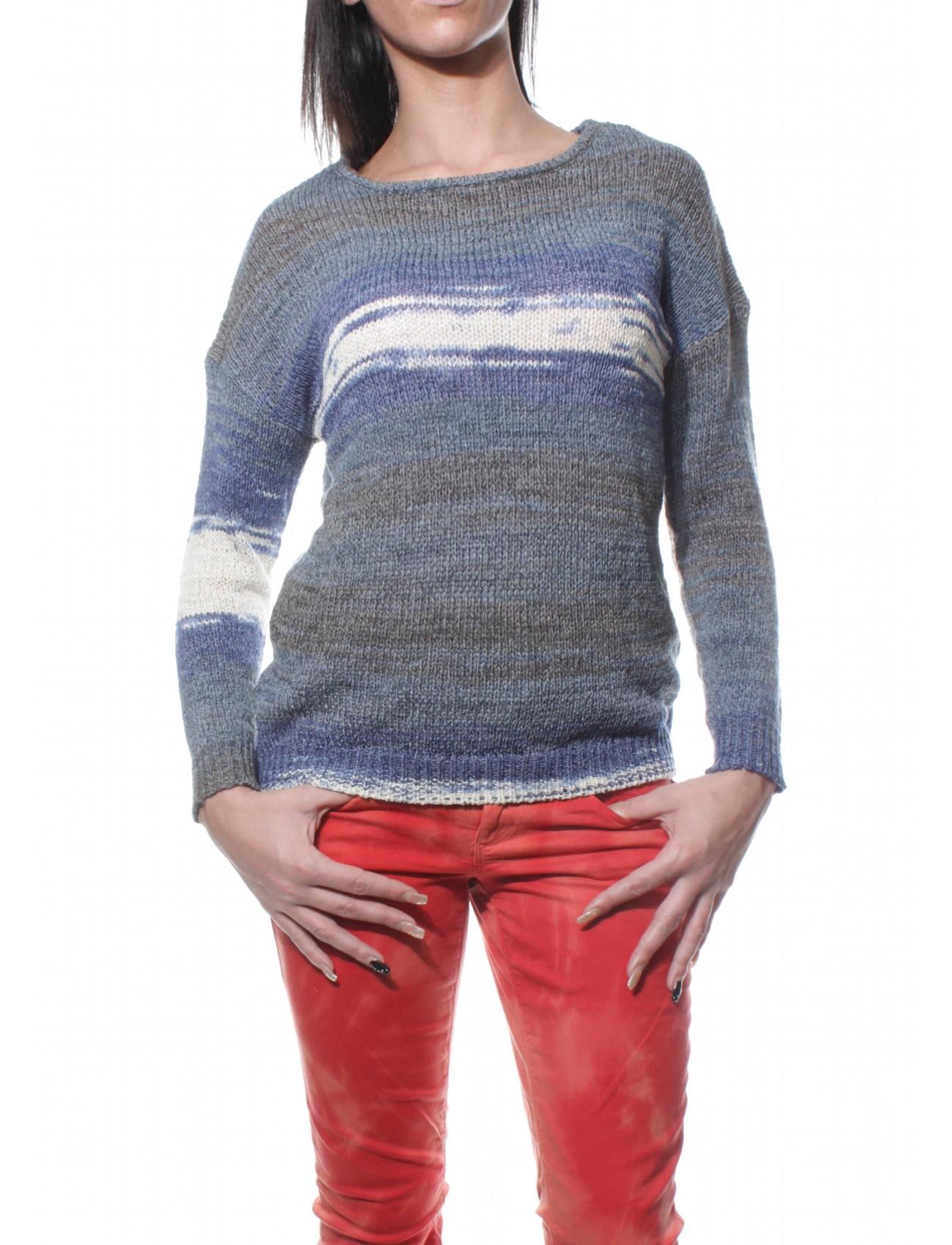 only damen pullover love ls knt 15083377 blau damen pullover. Black Bedroom Furniture Sets. Home Design Ideas
